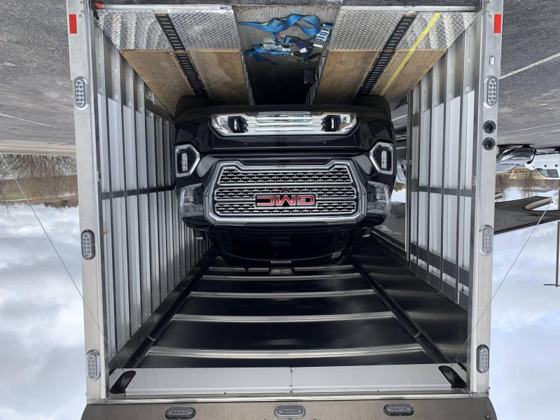 2020 Sundowner 52' Enclosed Gooseneck Tri Car Hauler