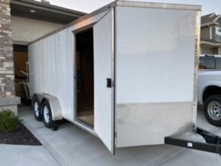 2019 Nexhaul Bullet 7 x 16 Enclosed Trailer