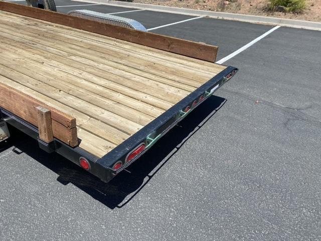 PJ 8' x 18' Flatbed Car Hauler
