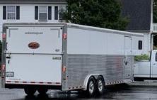 2017 Sundowner 8' x 32' Gooseneck Enclosed Cargo Trailer