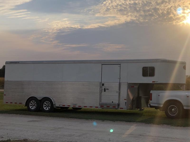 2017 Sundowner 8' x 32' Gooseneck Enclosed Cargo Trailer