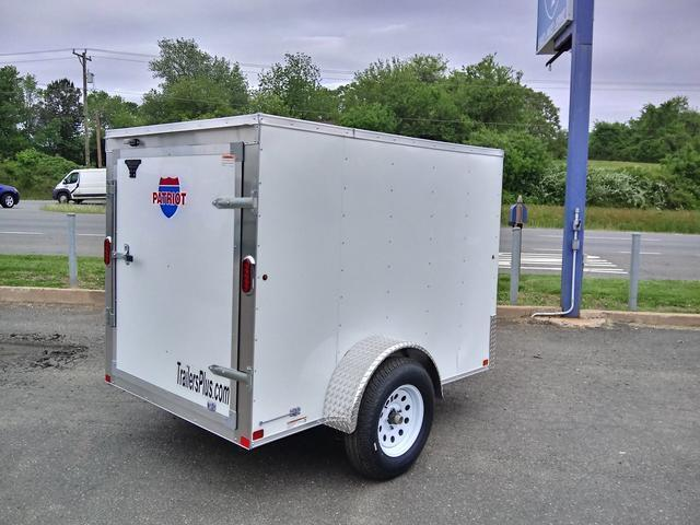 2021 Carry-On Patriot 5 x 8 Enclosed Cargo Trailer