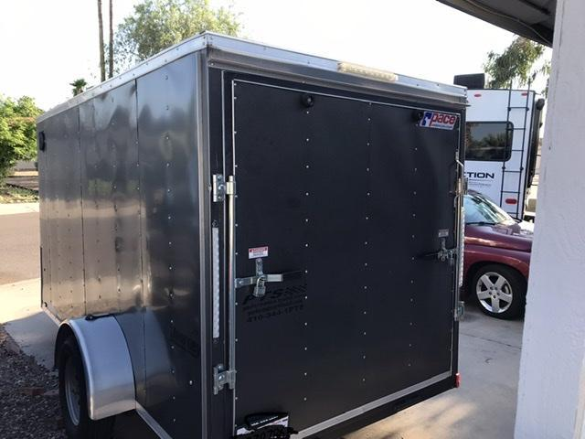 2019 Pace American Journey 6 x 14 Single Axle Enclosed Cargo Trailer