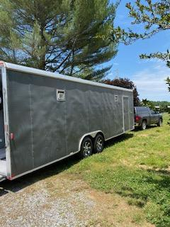 2012 Carry-On 8.5 x 28 Enclosed Cargo Trailer