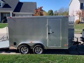 2017 Freedom 7x12TA2 Enclosed Cargo Trailer