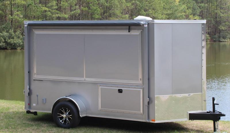 6 x 12 Tailgating Trailer