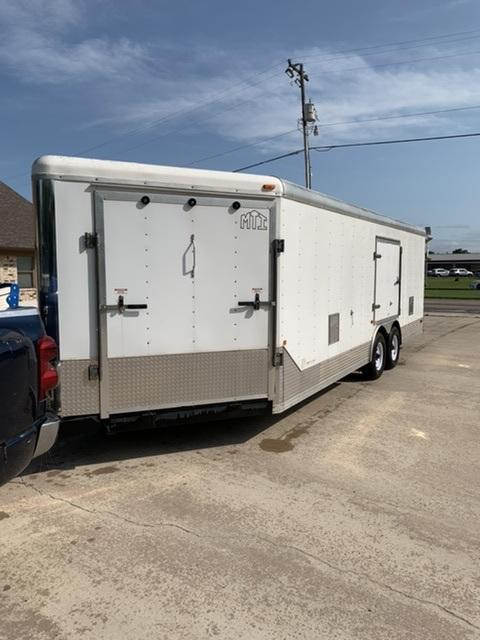 2008 MTI 8.5 x 27 TA3 Enclosed Cargo Trailer