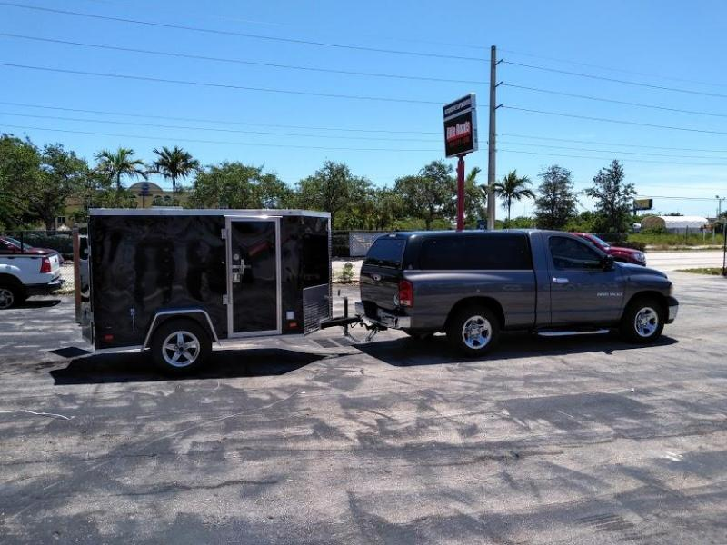 2020 Covered Wagon Trailers 5 x 8 V Nose Enclosed Trailer