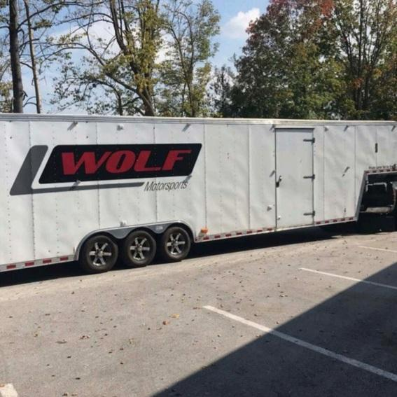2004 Pace American 40' Enclosed Trailer