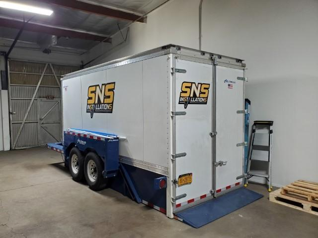 2019 Air-Tow 21' Enclosed Ground-Level Loading Trailer