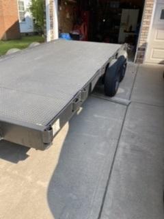 2020 Custom Built Tandem Axle Heavy Duty Trailer