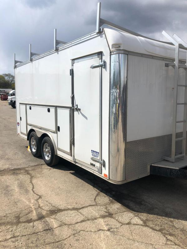 2020 United 8.5 x 16 Enclosed Trailer
