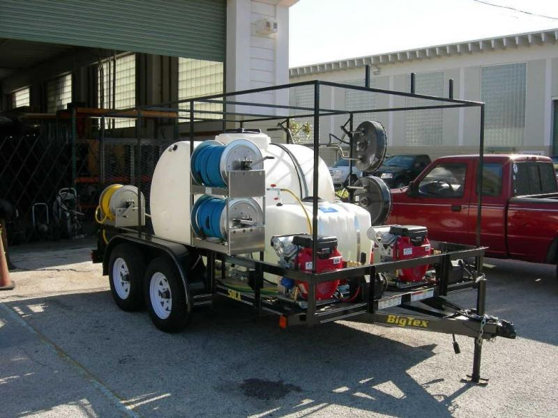 2015 Big Tex 70PI-16 Pressure Cleaning Trailer
