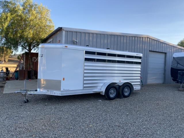 2018 Exiss Exhibitor Mini 615BP Livestock Trailer