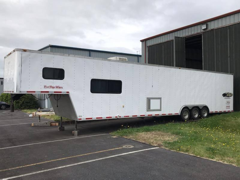 2000 Vintage Trailers Enclosed Car Trailer w/Living Quarters