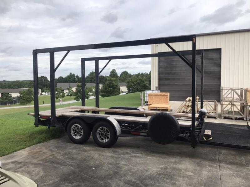 2010 Built Rite 8.5 x 26 Open Stacker Trailer