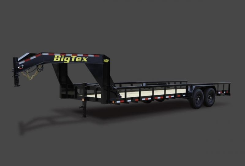 2014 Big Tex 24' 14K Gooseneck Equipment Trailer