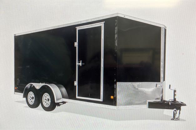 2022 Dark Horse 7x16 7K Enclosed Cargo Trailer