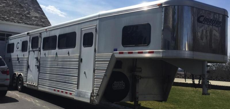 2012 Cimarron Custom Ordered 8 Horse Trailer
