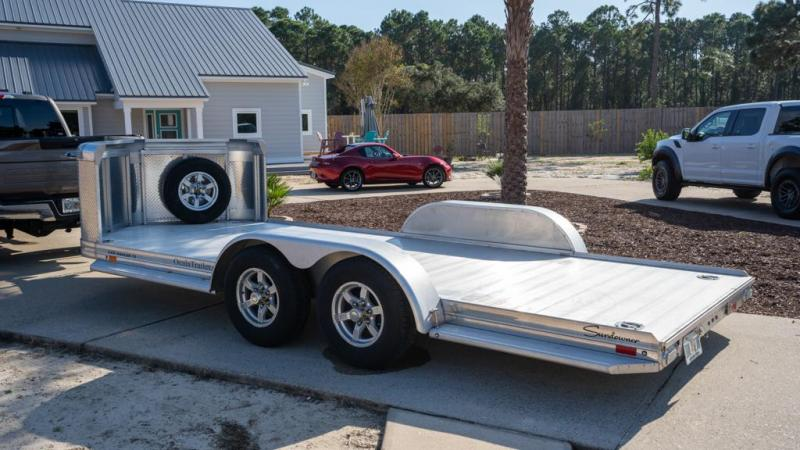 2019 Sundowner 19' All Aluminum Open Car Hauler