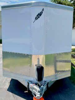 2020 Featherlite 20' Enclosed V-Nose Aluminum Cargo Trailer - Used