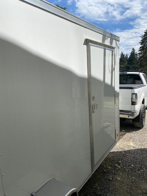 "2021 Covered Wagon 6 x 12 ""V"" Nose Enclosed Trailer"