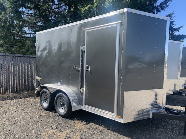 2021 Cargo King Nomad 7 x 12 Tandem Axle Enclosed Cargo Trailer