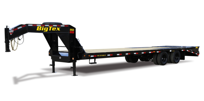"2014 Big Tex 102"" x 35'+5' Gooseneck Flatbed Trailer"