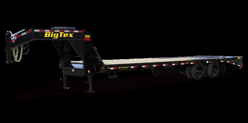 "2014 Big Tex 102"" x 35'+5' Gooseneck Flatbed Trailer"