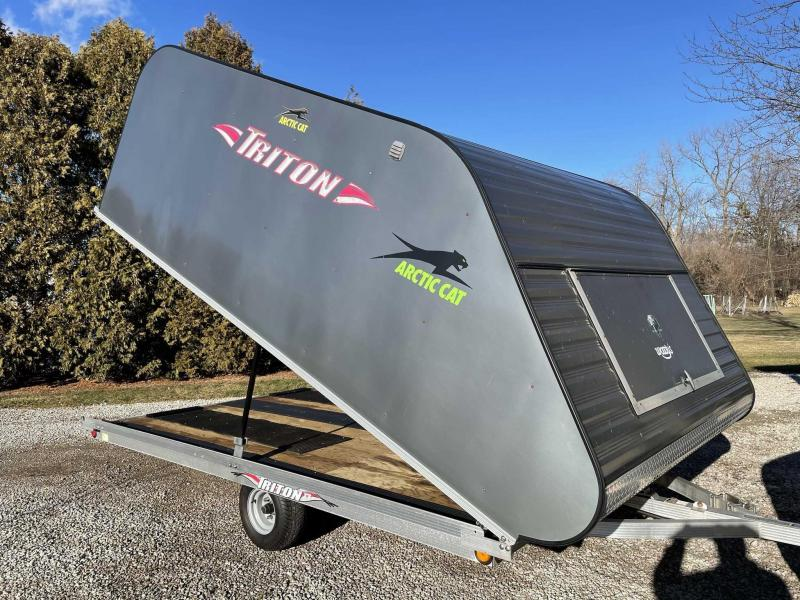 "2008 Triton 101"" x 12' Snowmobile Trailer"