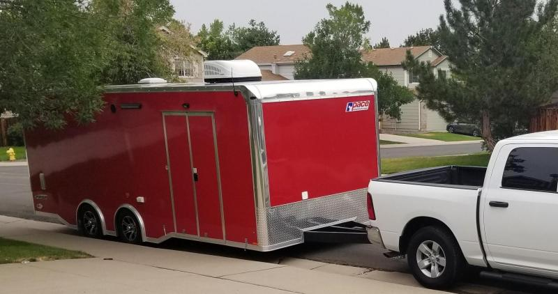 2019 Pace 8.5 X 22 3 RM Remote Office / Racing Trailer