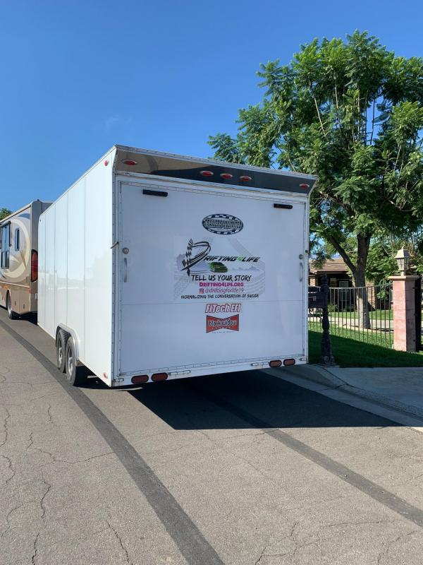 2017 Trailers Unlimited 8.5' x 20' Box Enclosed Trailer