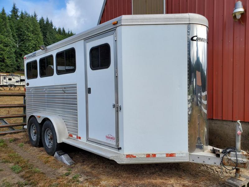 2007 Cimarron Norstar 3 Horse Slant Load Aluminum Trailer