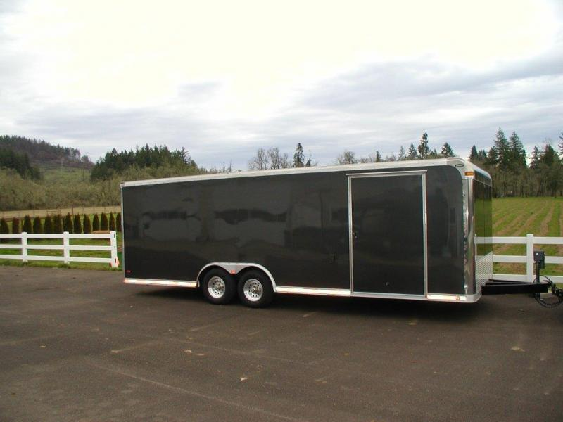 "2004 Pace American 8.5"" x 24' Custom Enclosed Car Trailer"