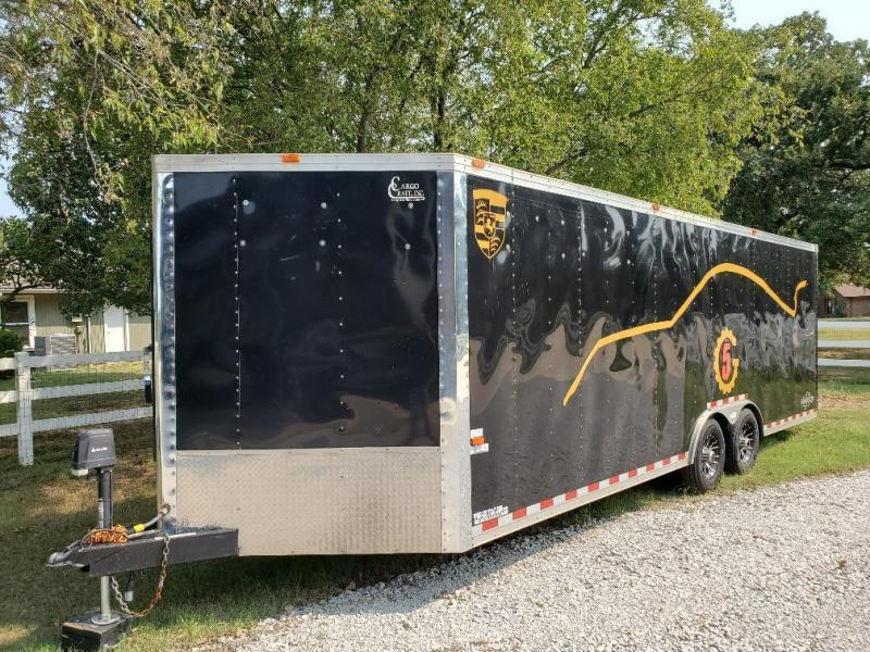 2015 Cargo Craft Dragster 8 x 28 Enclosed Trailer