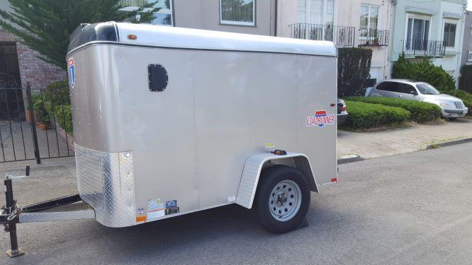2018 Interstate Loadrunner 5 x 8 Enclosed Cargo Trailer