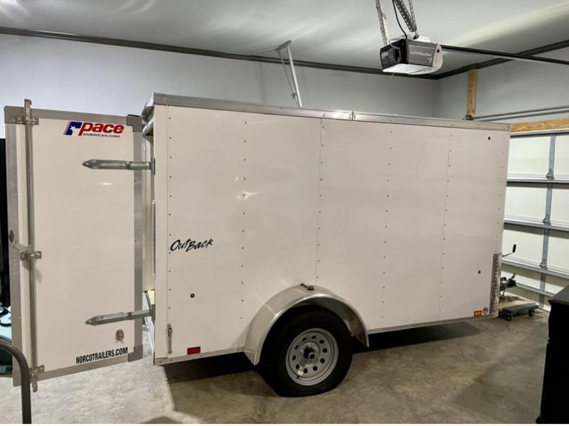 2020 Pace American Outback 5 x 10 Enclosed Cargo Trailer