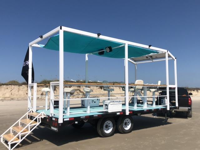2020 Pace American 8 x 20 Recreational Tailgating Trailer