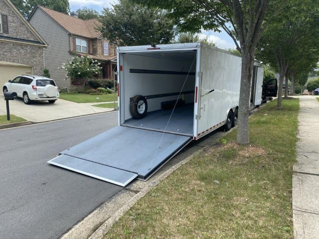 2020 Look Vision 8.5 x 28 Enclosed V-Nose Racing Trailer