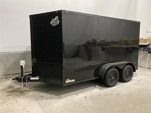 2020 Covered Wagon 7 x 14 Enclosed Cargo Trailer