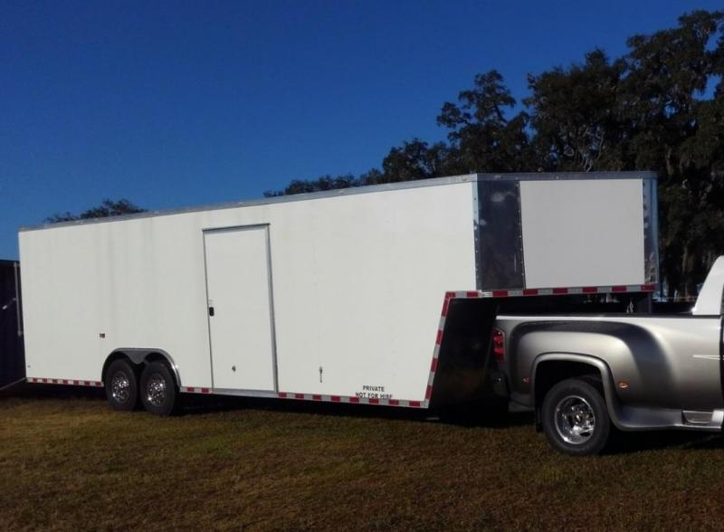 2019 Rock Solid 8.5' x 36' Gooseneck Enclosed Trailer