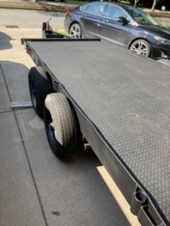 2020 Custom Tandem Axle Heavy Duty Trailer w/ Diamond Plate Deck