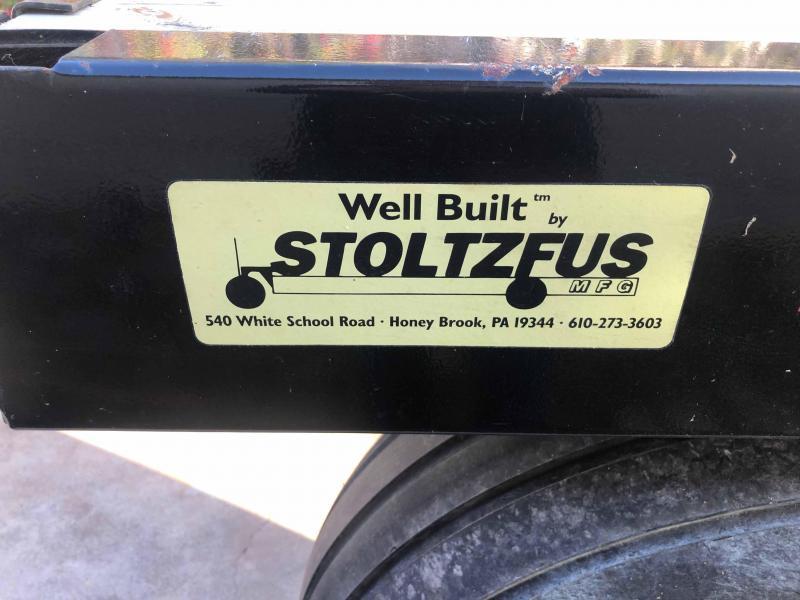 Stoltzfus 33' Flatbed Trailer