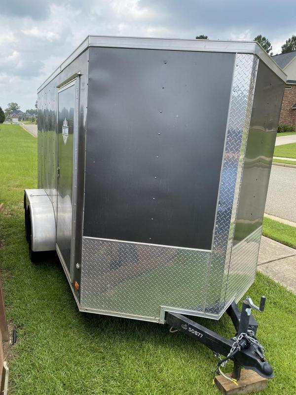 2019 Covered Wagon 6X12 Tandem Axle Enclosed Cargo Trailer