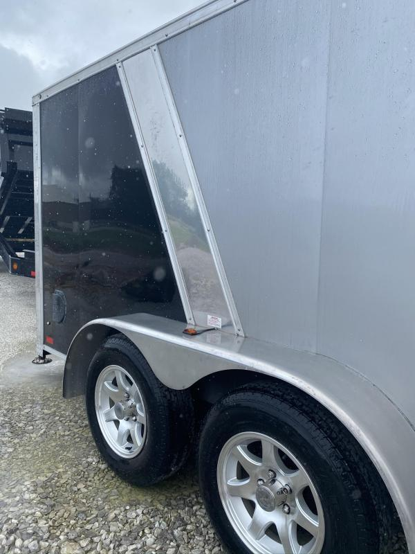 2012 Forest River 2 Bike Low Pro Cargo / Motorcycle Trailer
