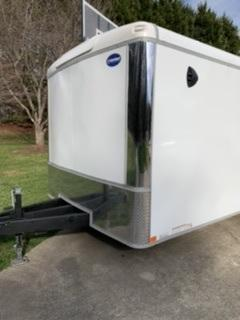 2021 United Trailers 8.5 x 24 Fully Enclosed Trailer