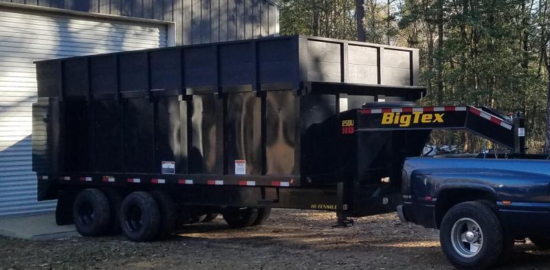 2021 Big Tex 20' Gooseneck Dump Trailer - 25900 GVWR