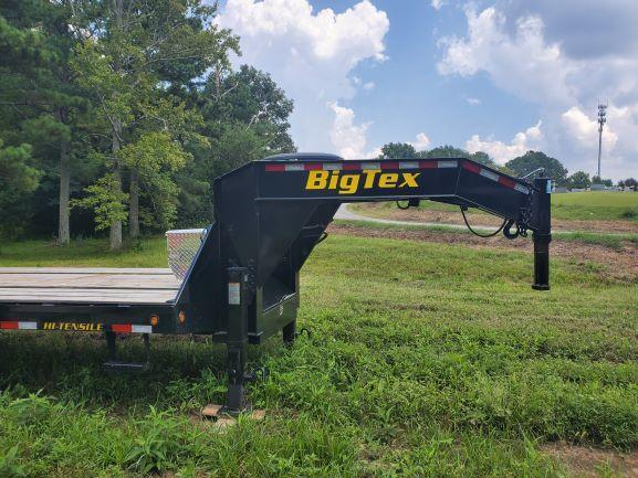 2021 Big Tex 30'+5' Gooseneck Flatbed Trailer