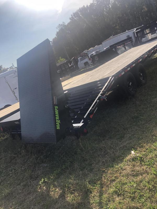 2020 Load Trail 30' Gooseneck Trailer w/ Flip-Down Ramps