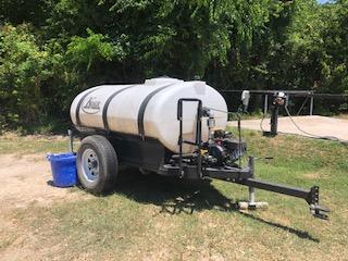 2017 Kiser 500 Gallon Water Trailer
